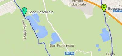 MappaItinerarioAcqua